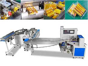 Strip Candy Sorting Tray Packaging Machine