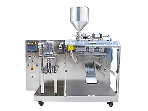 horizontal liquid doypack packing machine