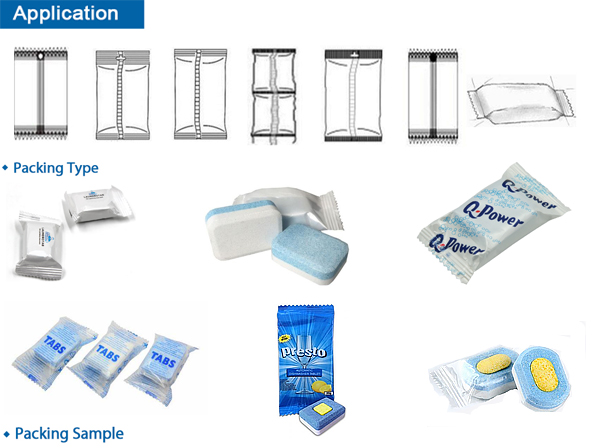 laundry tablets packing machine