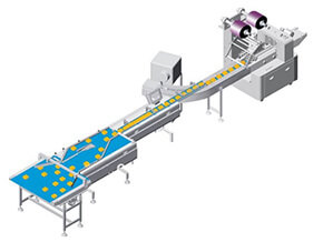 moon cake Packaging Line