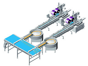 Rice cracker Packing Line