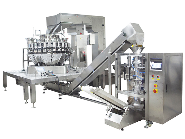 Mixed dried fruit packaging machinery