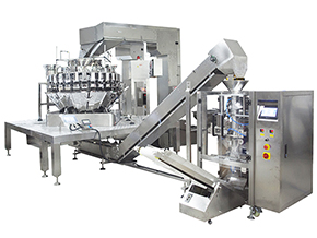 Mixed nut packaging machine