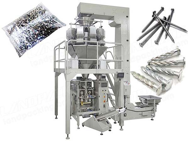 fastener packaging machine