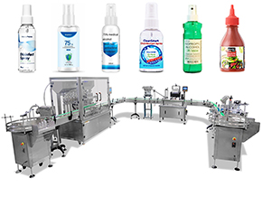 Full Automatic Bottle Filling Capping And Labeling Machine
