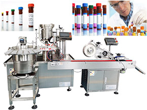 Automatic IVD Reagents Liquid Filling and Capping Machine China