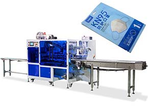 4 Side Sealing Mask Packing Machine