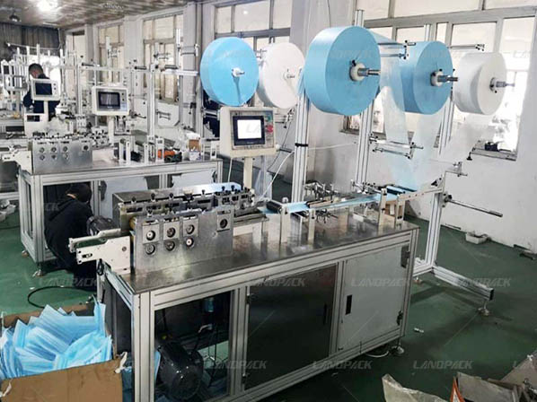 ,face mask blank making machine