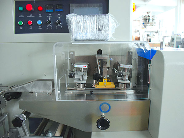 surgical mask making machine with packing